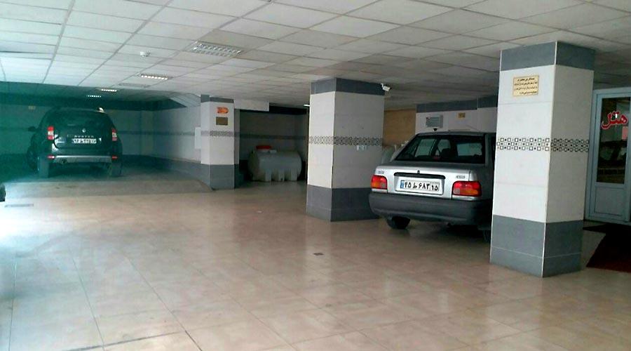 پارکینگ هتل سهند تبریز