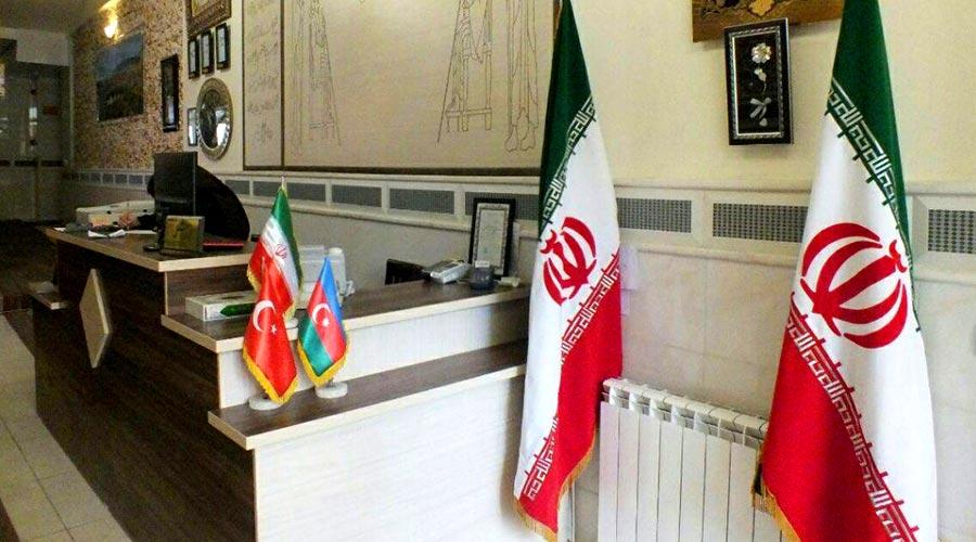 پذیرش هتل سهند تبریز