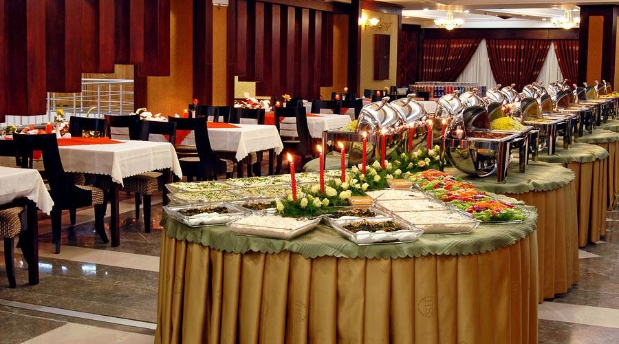 رستوران 2 هتل شهریار تبریز