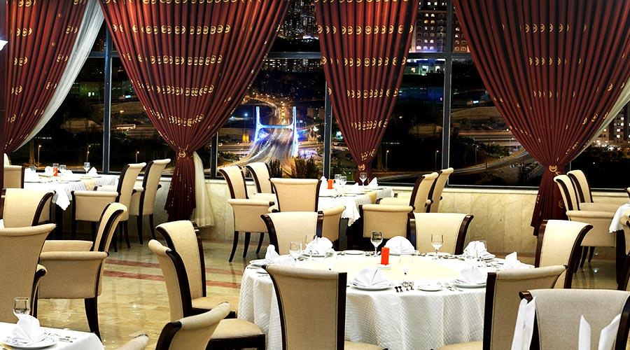 رستوران 3 هتل شهریار تبریز