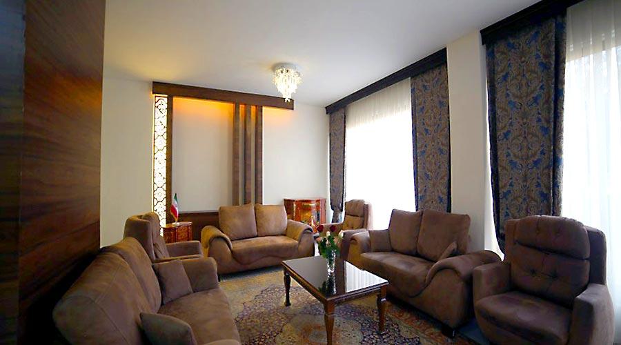 اتاق انتظار هتل بین المللی تبریز