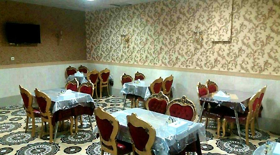 رستوران هتل آپارتمان آیسان مشهد