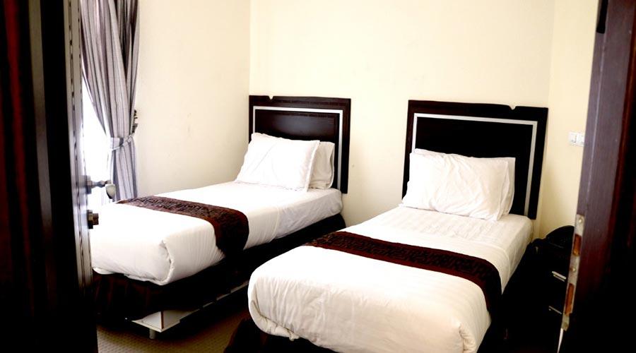 اتاق 1 هتل گامبرون کیش