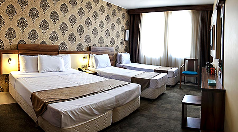 اتاق هتل هاترا مشهد