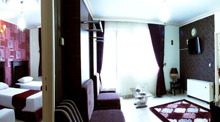 اتاق هتل کوثر مشهد