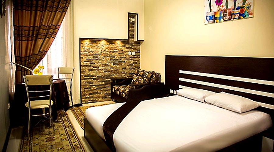 اتاق 1 هتل رضویه مشهد