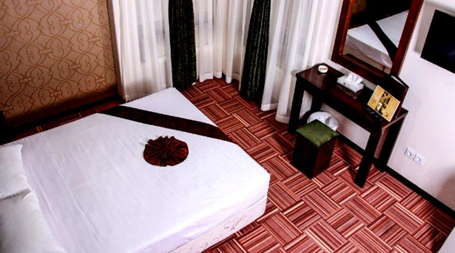 اتاق هتل رضویه مشهد