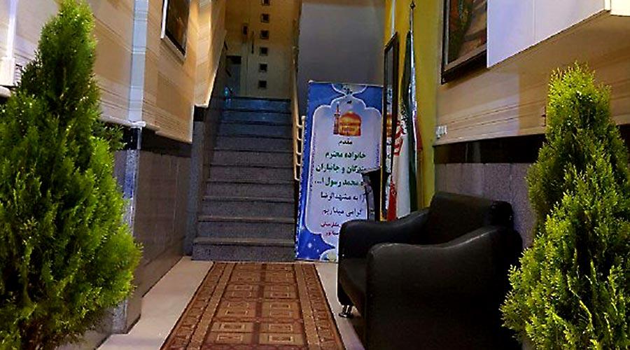 راهرو هتل سعدی مشهد