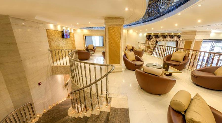 کافی شاپ هتل سهند مشهد