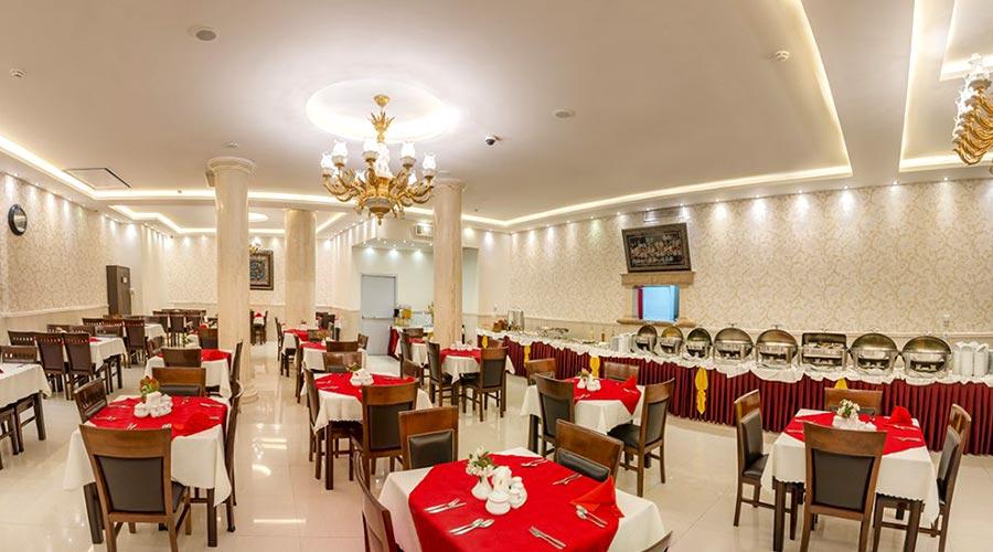 رستوران 2 هتل سهند مشهد