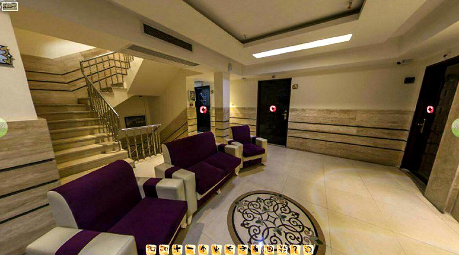 کافی شاپ هتل سراج مشهد