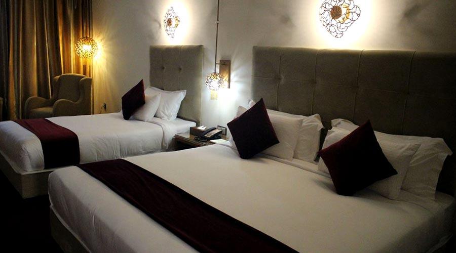 اتاق 2 هتل ویدا کیش