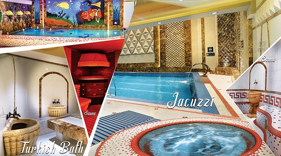 جکوزی هتل الماس نوین مشهد