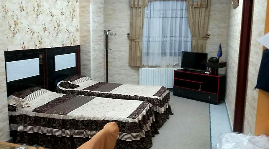 اتاق 3 هتل اترک سرعین