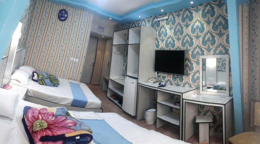 اتاق 4 هتل بوستان سرعین