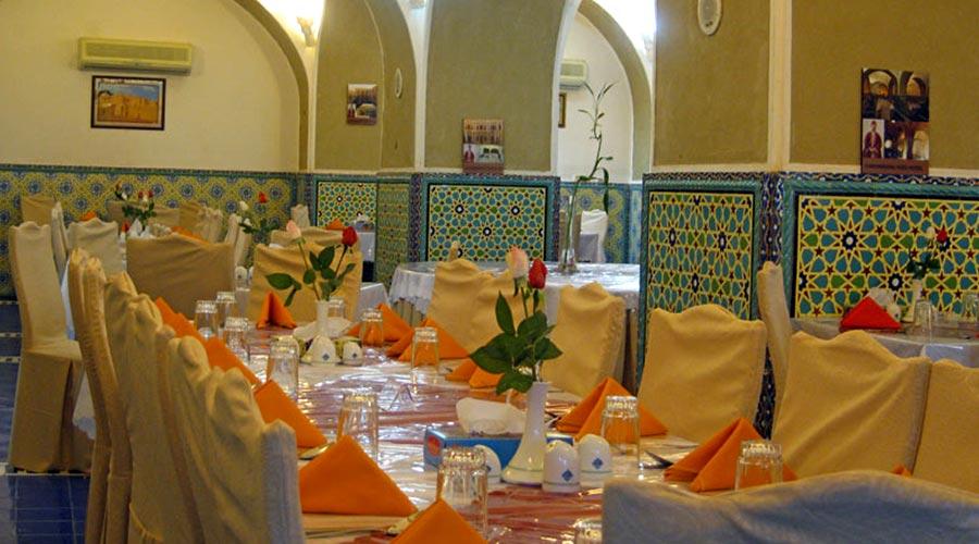 رستوران هتل کاروانسرای مشیر یزد