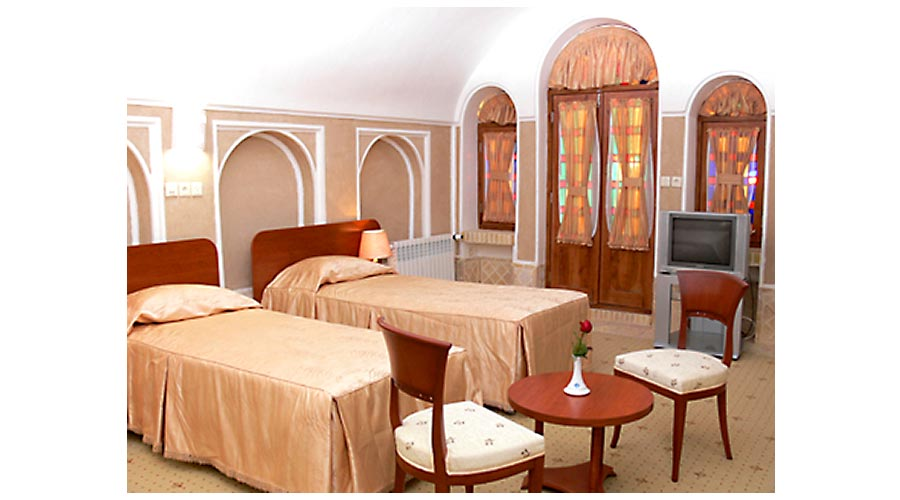 اتاق 2 هتل کاروانسرای مشیر یزد