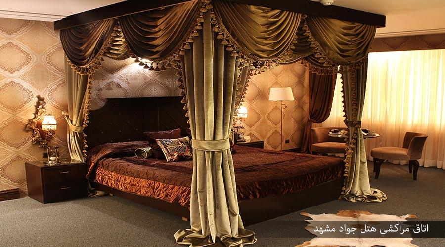 اتاق مراکشی هتل جواد مشهد