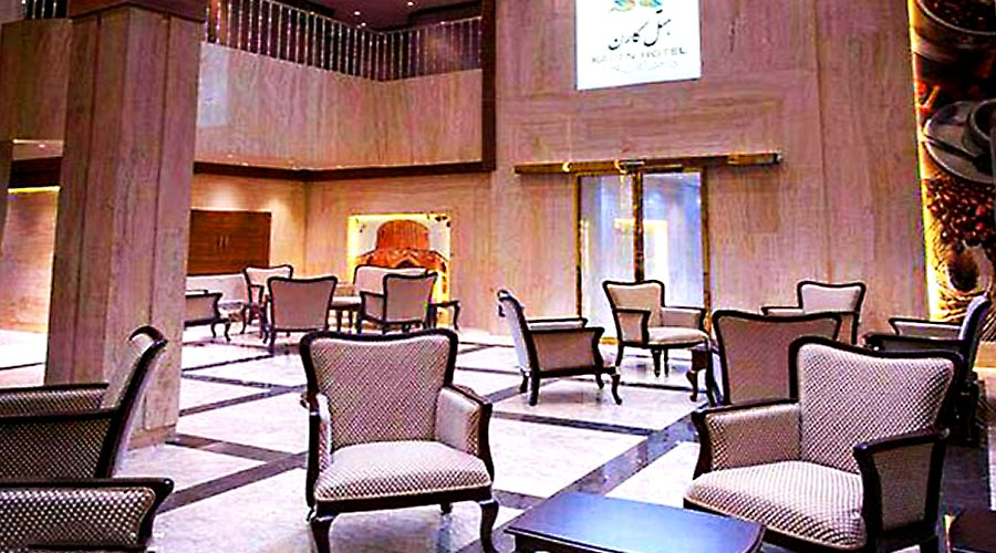 لابی هتل کارن مشهد