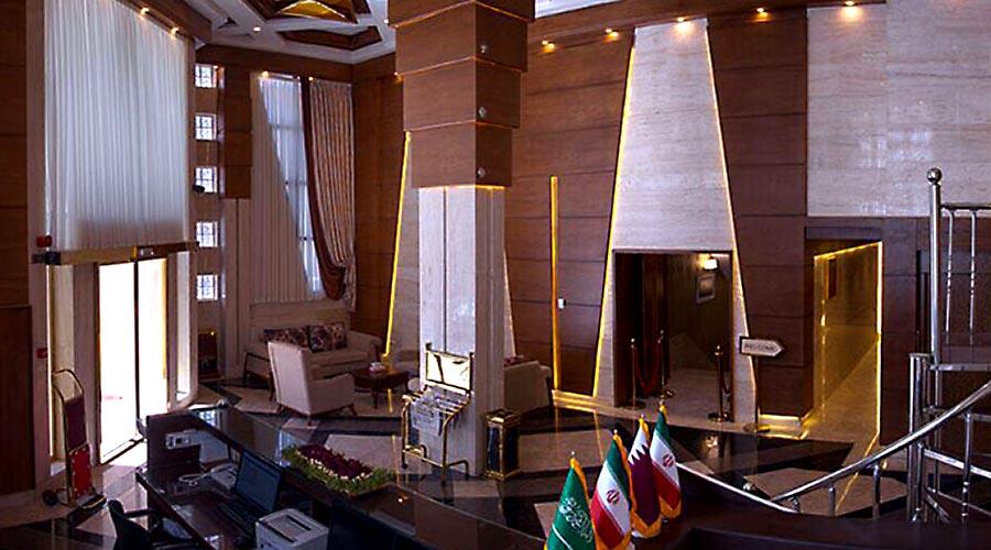 اتاق 4 هتل کارن مشهد