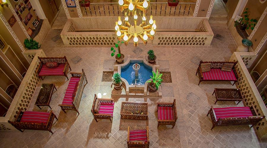 کافی شاپ هتل خوان دوحد یزد
