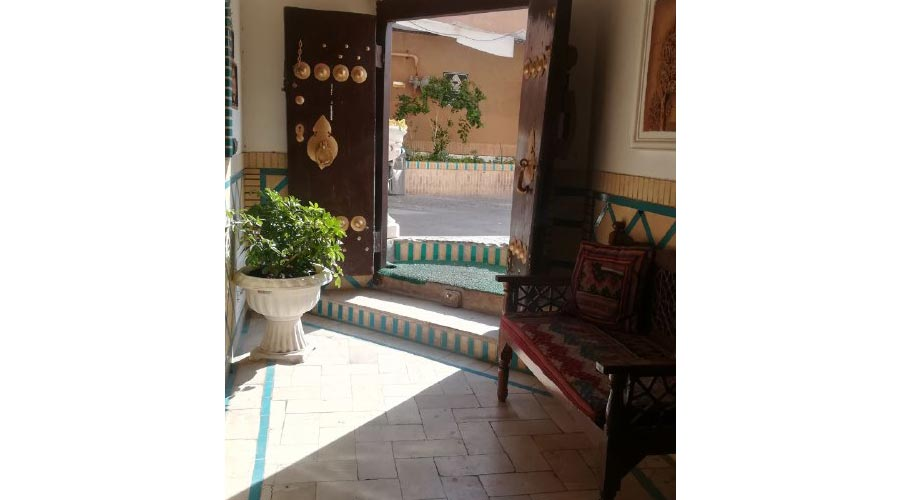 ورودی هتل خوان دوحد یزد