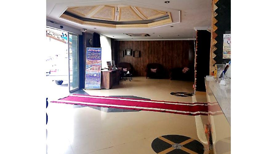 لابی هتل پارمین مشهد