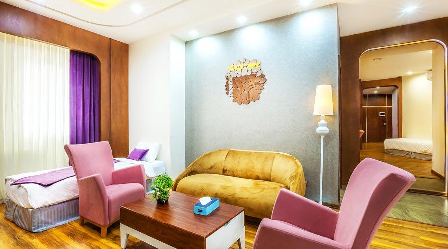 سوئیت امپریال 3 هتل رویال پارک سرعین