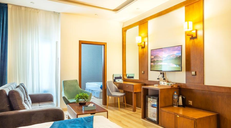 اتاق 5 هتل رویال پارک سرعین