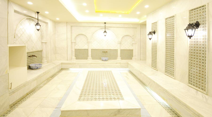 حمام ترکی هتل رویال پارک سرعین