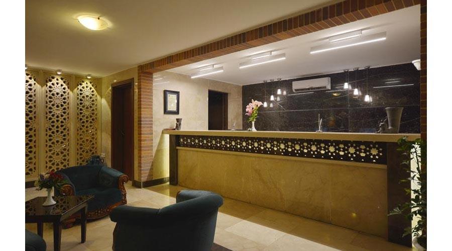 پذیرش هتل ارگ شیراز