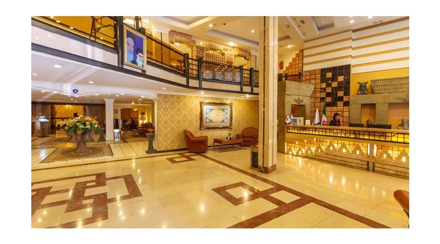لابی هتل آریوبرزن شیراز