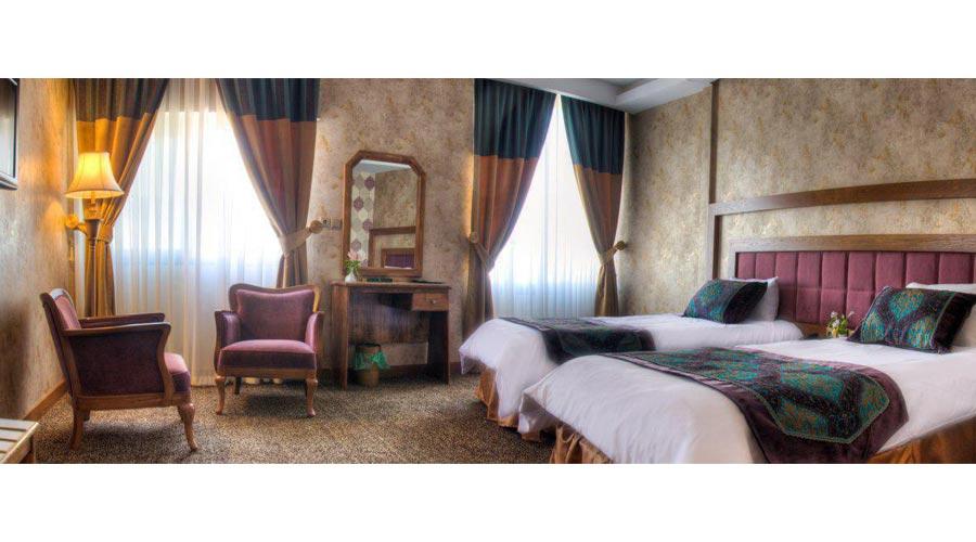 اتاق هتل آریوبرزن شیراز