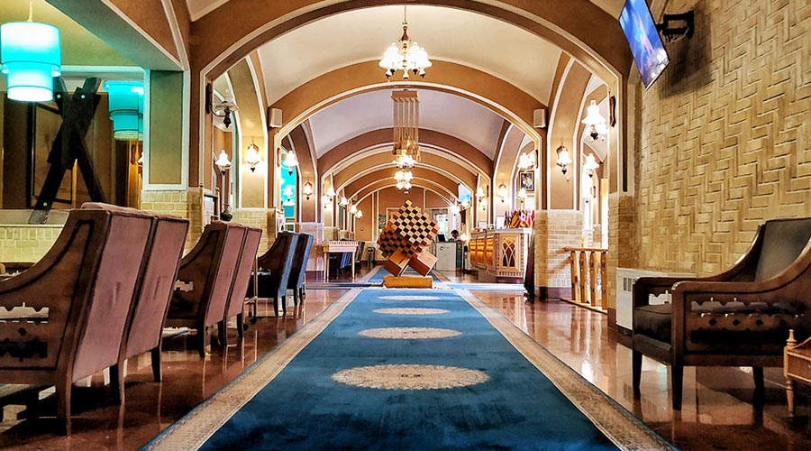 لابی 2 هتل داد یزد