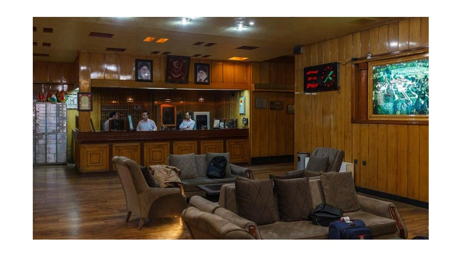 پذیرش هتل ارم شیراز