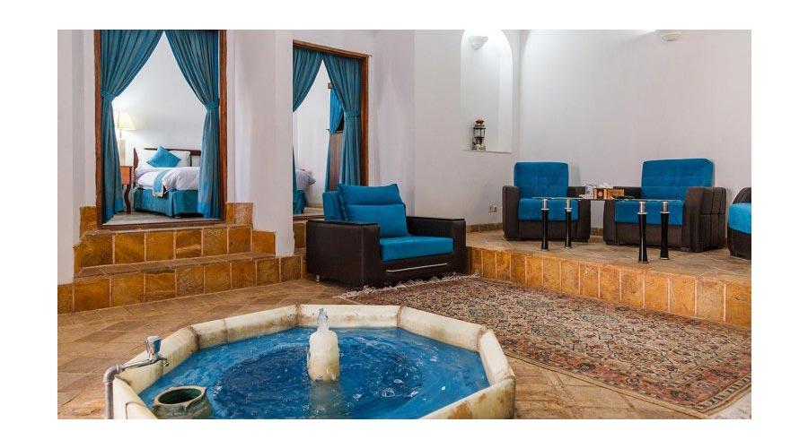 اتاق 2 هتل لاله یزد