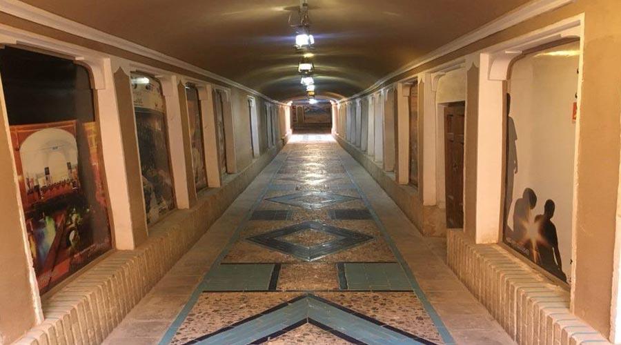 ورودی هتل ملک التجار یزد