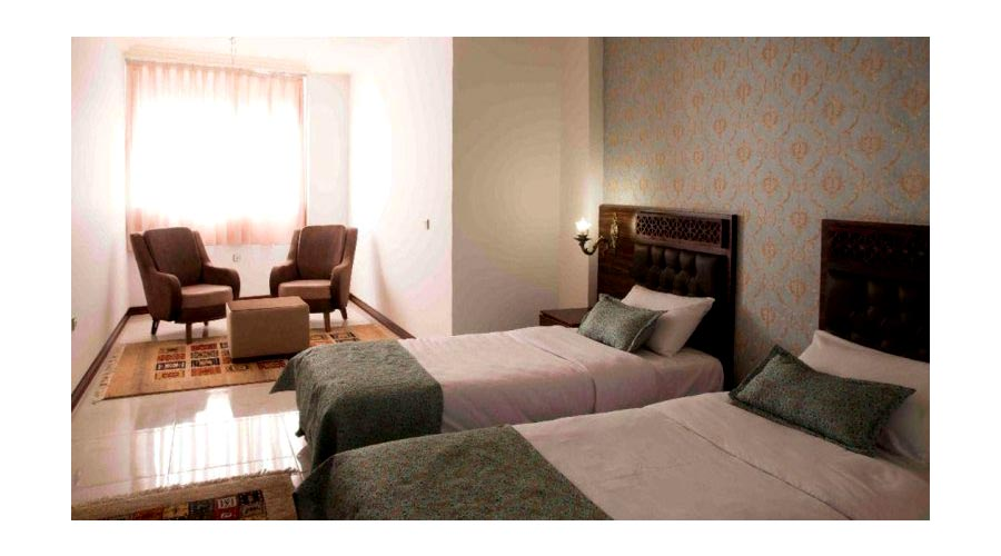 اتاق هتل وکیل شیراز