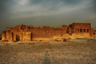 شهر باستانی حریره در کیش