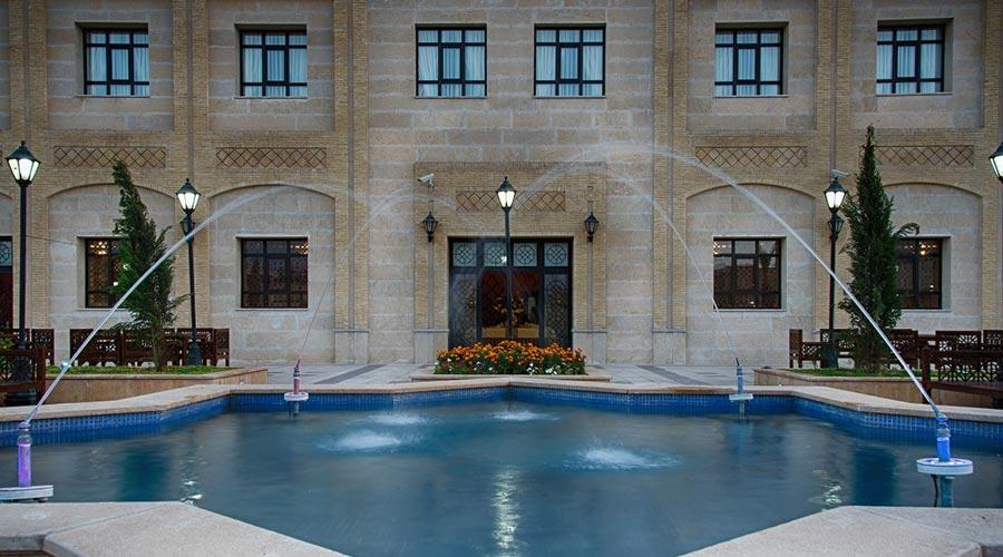 مرکز اصلی رزرو هتل بین الحرمین شیراز