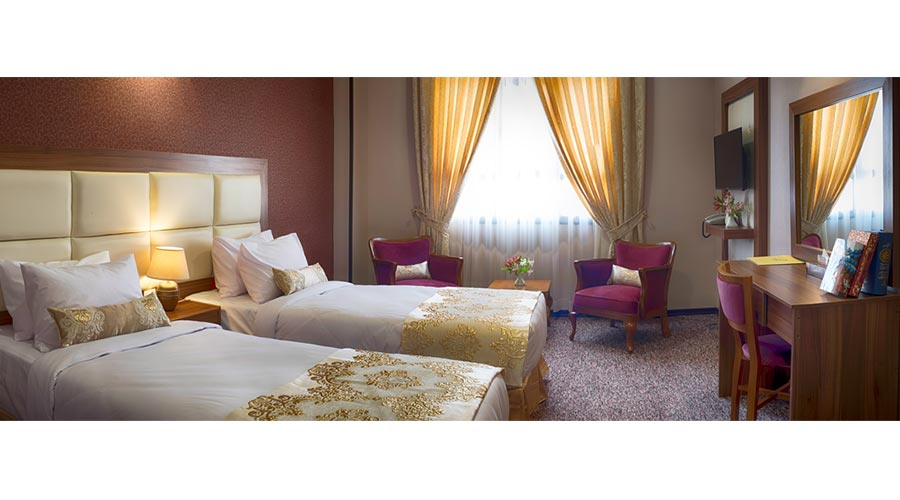 اتاق 1 هتل بین الحرمین شیراز