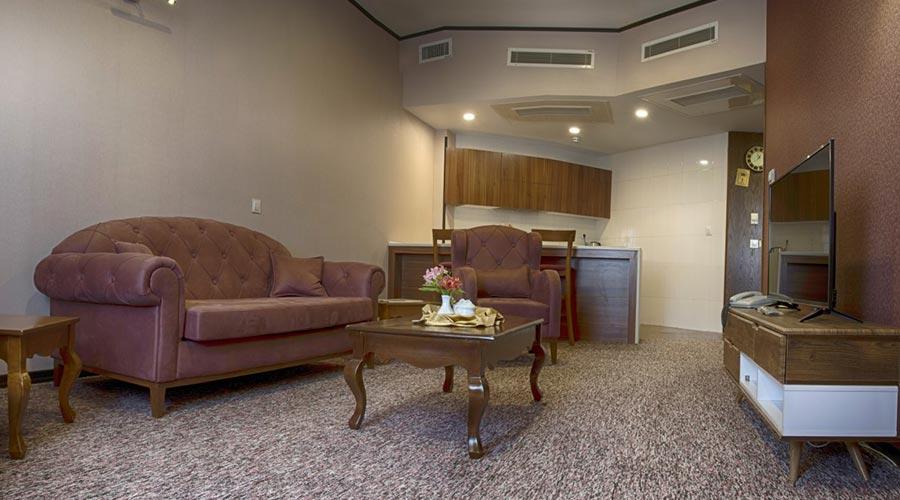 اتاق 3 هتل بین الحرمین شیراز