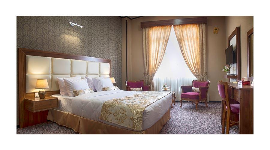 اتاق هتل بین الحرمین شیراز