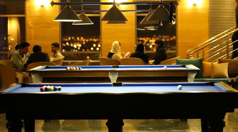 بیلیارد هتل بزرگ شیراز