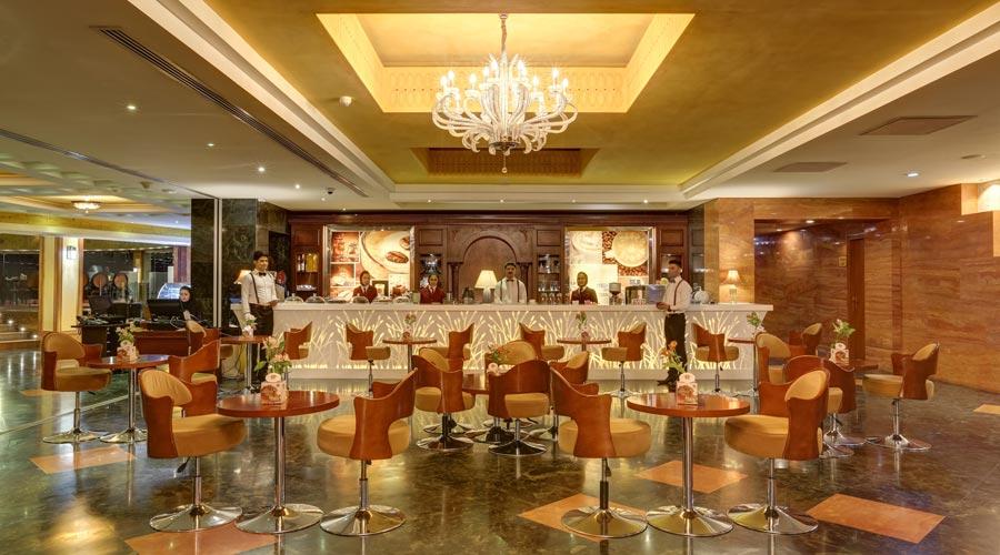 کافی شاپ هتل بزرگ شیراز