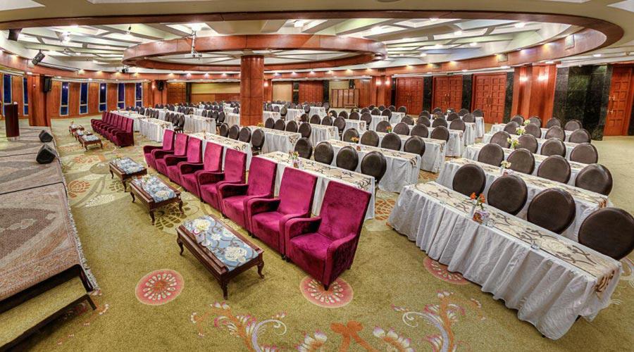 سالن کنفرانس هتل بزرگ شیراز