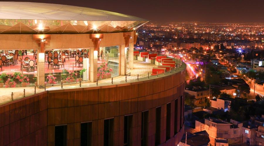 رستوران گردان 2 هتل بزرگ شیراز