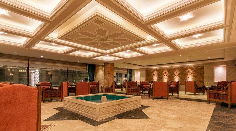 کافه لانژ 2 هتل زندیه شیراز