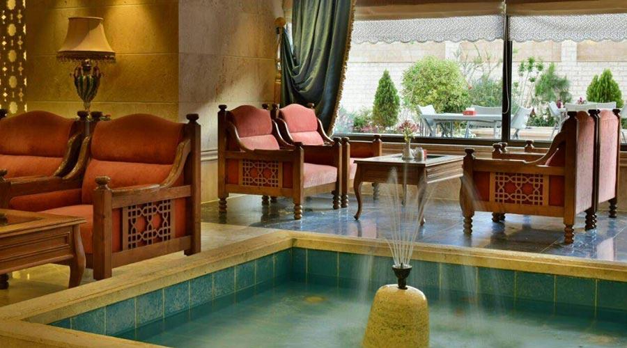 کافه لانژ هتل زندیه شیراز