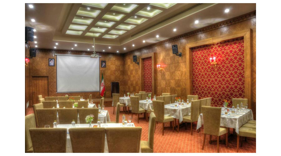 سالن کنفرانس هتل زندیه شیراز